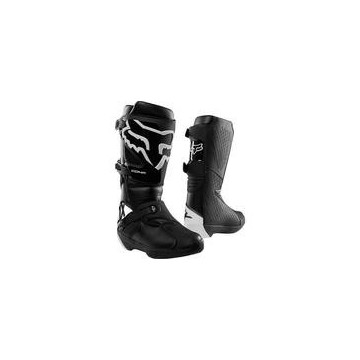 Botas Moto Comp Blanco Fox